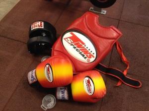 sparring kit